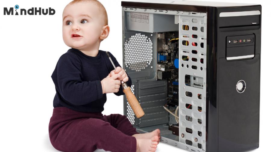 Ce știe copilul meu despre componentele unui computer?